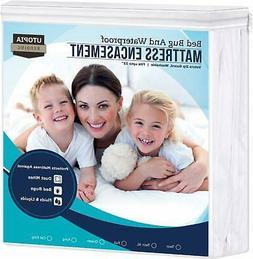 Utopia Bedding Zippered Mattress Encasement - Bed Bug Proof,