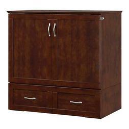 Atlantic Furniture Hamilton Wood Twin Extra Long Murphy Bed