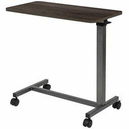 Flash Furniture Mobile Adjustable Bed Table In Oak