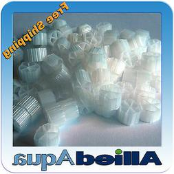 Moving Bed Bio Filter Media , 1 Gallon - Better than Kaldnes