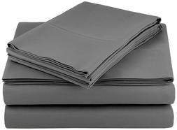 Bed Sheet Set 4 Piece Egyptian Comfort 1800 Count Ultra Soft