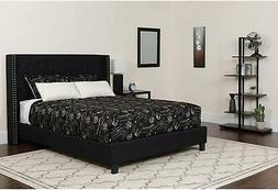 Flash Furniture Riverdale King Size Tufted Upholstered Platf