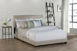 Hillsdale Willow Queen Upholstered Bed, Fog